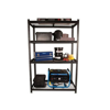 Picture of Steel Shelving - 4 Tier - Heavy Duty - Boltless - Metal Frame and Shelves - Charcoal - ADIY3905