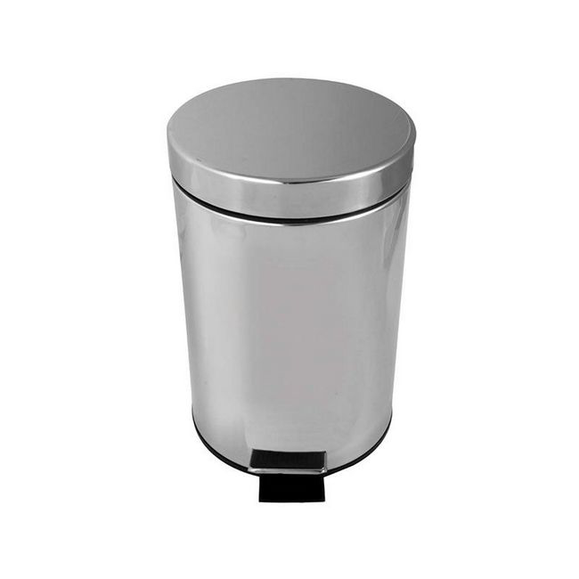Picture of Stainless Steel Waste Pedal Bin - 3L - ABS6100
