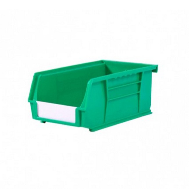 Picture of Panel Bin - Plastic Small Parts Container - Size 3 - 19 x 10.5 x 7.5 cm - Green - BIN-3-GREEN