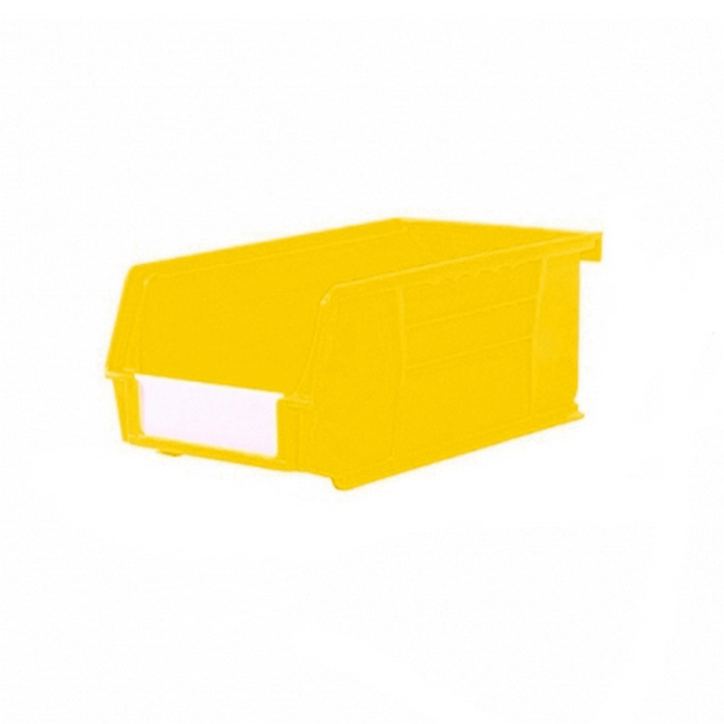 Picture of Panel Bin - Plastic Small Parts Container - Size 3 - 19 x 10.5 x 7.5 cm - Yellow - BIN-3-YELLOW