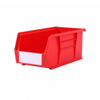 Picture of Panel Bin - Plastic Small Parts Container - Size 5 - 28 x 14 x 13 cm - Red - BIN-5-RED