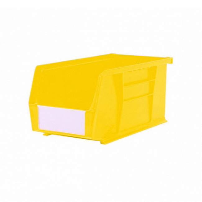 Picture of Panel Bin - Plastic Small Parts Container - Size 5 - 28 x 14 x 13 cm - Yellow - BIN-5-YELLOW