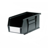 Picture of Panel Bin - Plastic Small Parts Container - Size 5 - 28 x 14 x 13 cm - Black - BIN-5-BLACK
