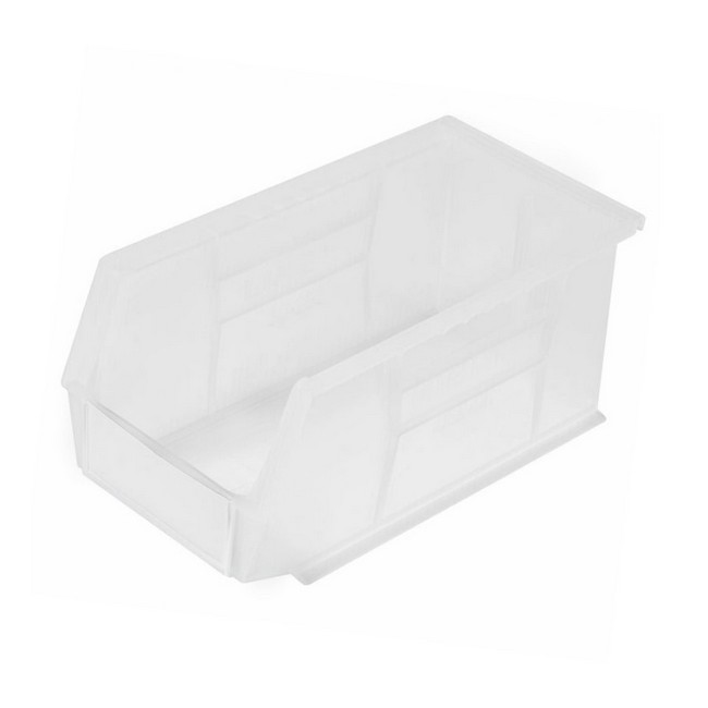 Picture of Panel Bin - Plastic Small Parts Container - Size 5 - 28 x 14 x 13 cm - Clear - BIN-5-CLEAR