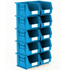 Picture of Panel Bin - Plastic Small Parts Container - Size 6 - 28 x 21 x 18 cm - Blue - BIN-6-BLUE