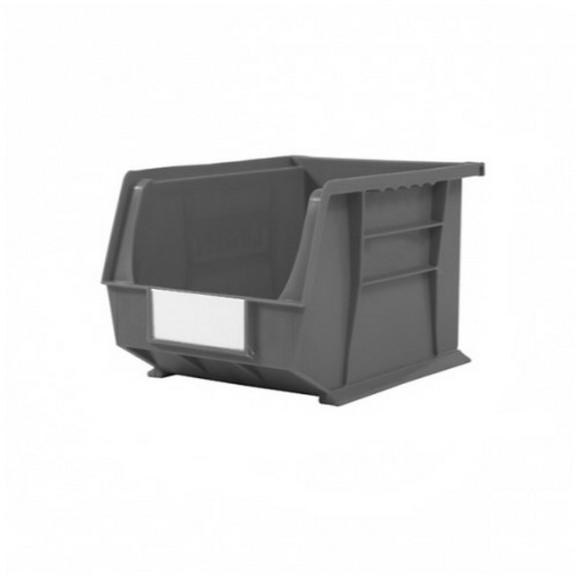 Picture of Panel Bin - Plastic Small Parts Container - Size 6 - 28 x 21 x 18 cm - Grey - BIN-6-GREY