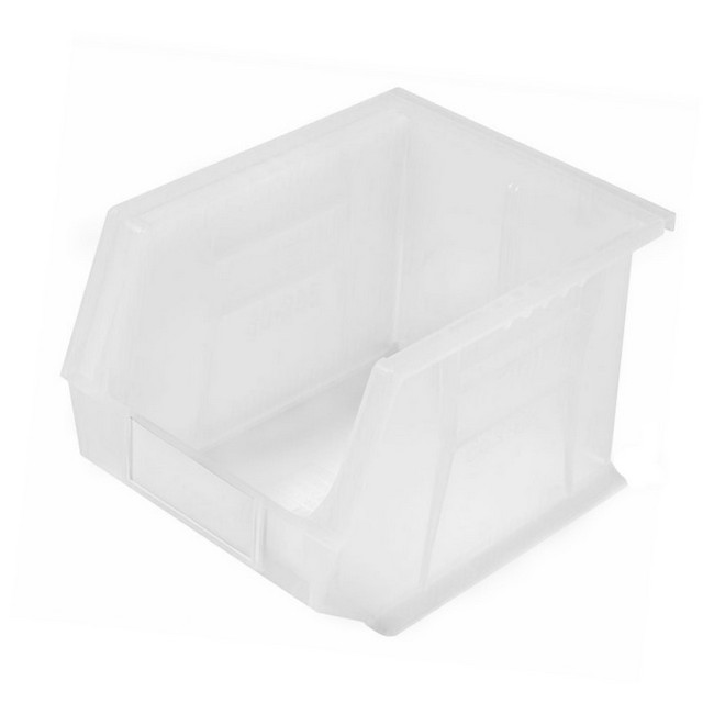 Picture of Panel Bin - Plastic Small Parts Container - Size 6 - 28 x 21 x 18 cm - Clear - BIN-6-CLEAR