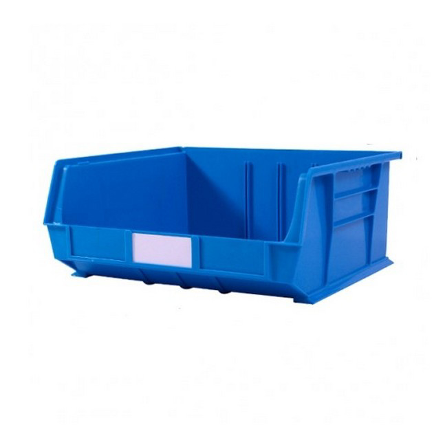 Picture of Panel Bin - Plastic Small Parts Container - Size 8 - 37.5 x 42 x 18 cm - Blue - BIN-8-BLUE