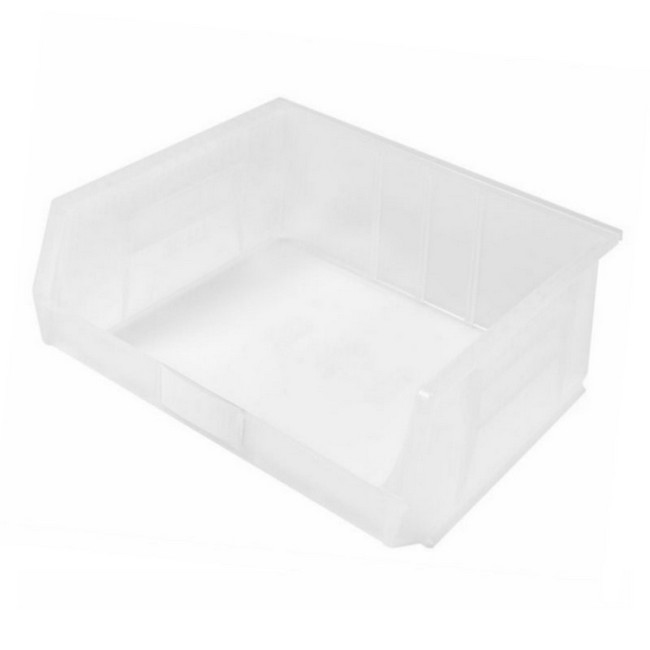Picture of Panel Bin - Plastic Small Parts Container - Size 8 - 37.5 x 42 x 18 cm - Clear - BIN-8-CLEAR