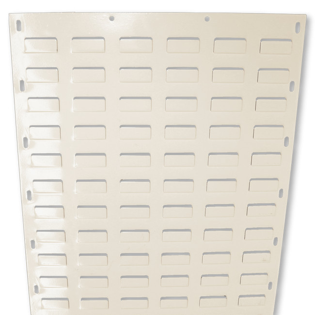 Picture of Louvre Bin Panel - Wall Mounted Steel - Small Part Storage - 91.4 x 45.7 cm - PANEL0914