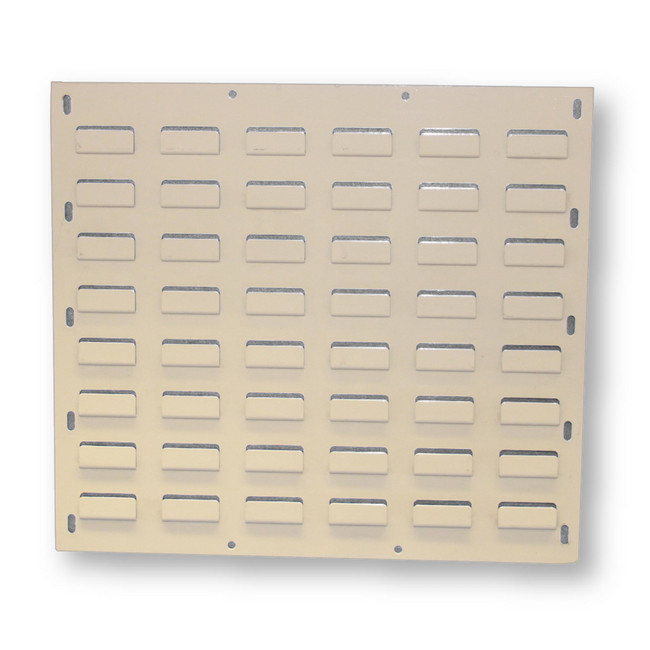 Picture of Louvre Bin Panel - Wall Mounted Steel - Small Part Storage - 43.2 x 45.7 cm - PANEL0432