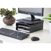 Picture of Ergonomic Multi-Functional Monitor Stand - Black - MULTF