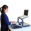 Picture of Ergonomic - WorkEz Standing Workstation Combo - WECOMBO