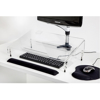 Picture of Ergonomic Mini Document Desk - Clear - MDCDH