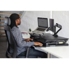 Picture of Ergonomic - Dual Screen Height Adjustable Monitor Arm Mount - FF7DB