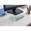Picture of Ergonomic Monitor Stand - Clear Perspex - CPMR