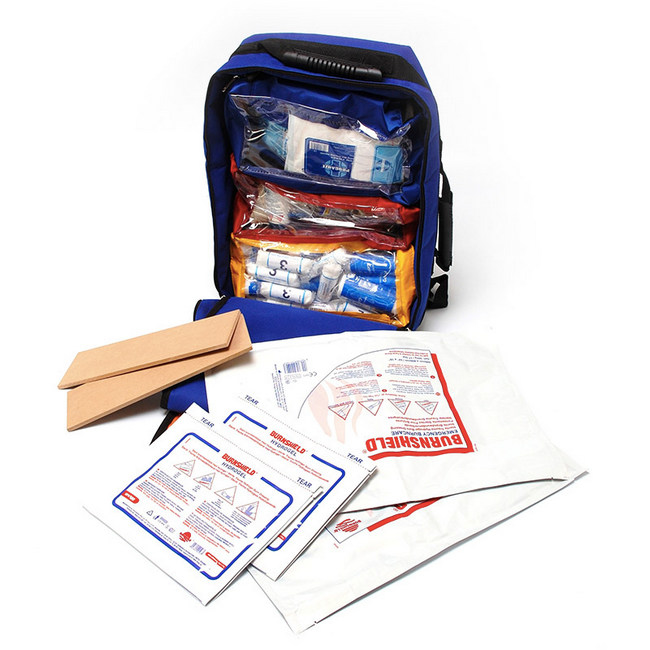 Picture of First Aid Kit - 1st Responder - Comprehensive - 95 Items in Junior Backpack - 34 x 17 x 47 cm - FAK5049