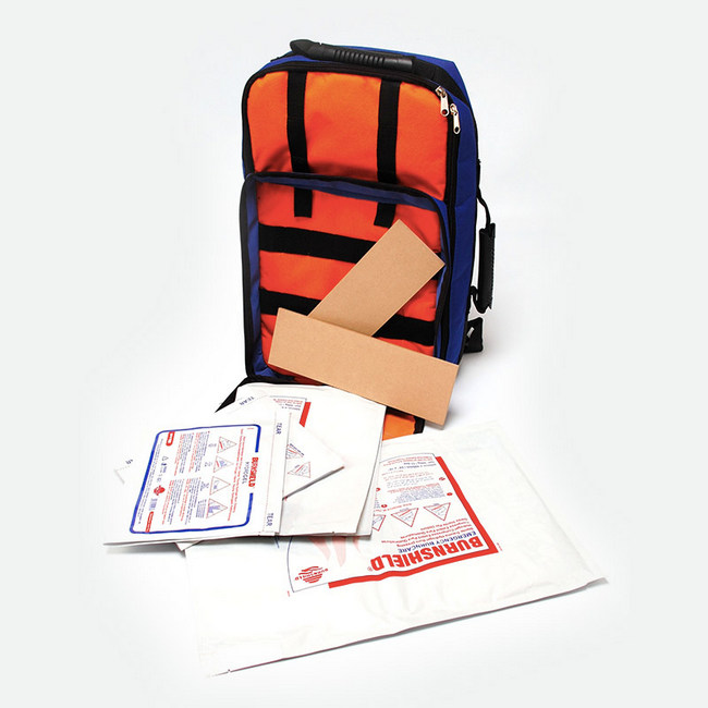 Picture of First Aid Kit - 1st Responder - Basic Life Support - 200 Items in Junior Backpack - 34 x 17 x 34 cm - FAK5051