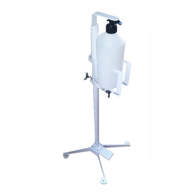 Picture of Hand Sanitiser Dispenser Station - Foot Operated - 1L Bottle - FAE6526-LEV