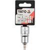 "Picture of Torx Bit Socket - Male - Chrome Vanadium -  1/2"" Connector - Standard Length - T30 x 50mm - YT-04313"