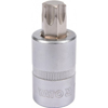 "Picture of Torx Bit Socket - Male - Chrome Vanadium -  1/2"" Connector - Standard Length - T60 x 50mm - YT-04318"