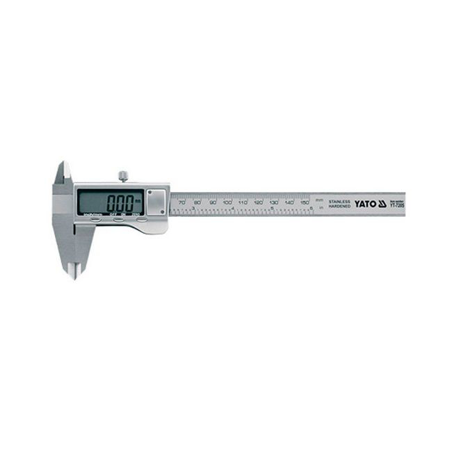 Picture of Vernier Caliper - Digital - Stainless Steel - Accuracy ±0.01mm - YT-7205