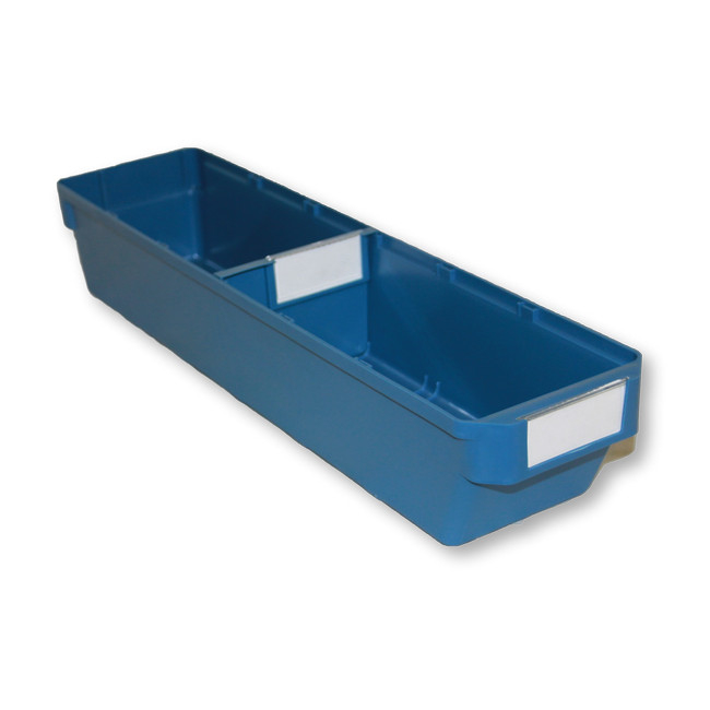 Picture of Shelf Bin - Loose Parts Warehouse Storage Container - Plastic - Small - 500mm - Blue - DP500S-single
