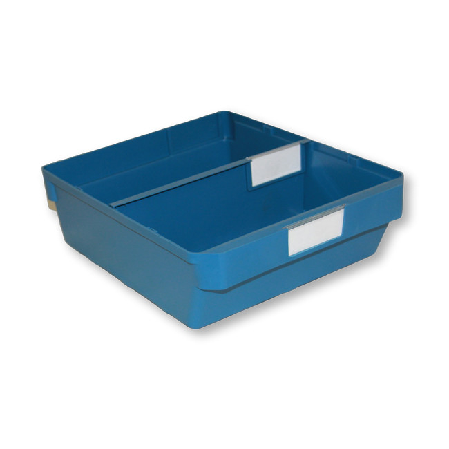 Picture of Shelf Bin - Loose Parts Warehouse Storage Container - Plastic - Large - 300mm - Blue - DP300L-single