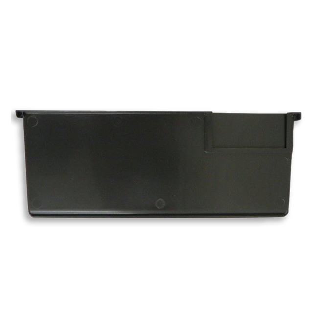 Picture of Divider for Loose Parts Warehouse Shelf Bin Storage Container - Large - Black - (MOQ 20) - DPDIVLBL-single