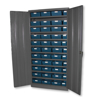 Picture of Steel Cabinet with Plastic Loose Parts Warehouse Shelf Bin Storage Containers (400mm) - 1800 (H) x 900 (W) x 450 (D) mm - DBCAB450M