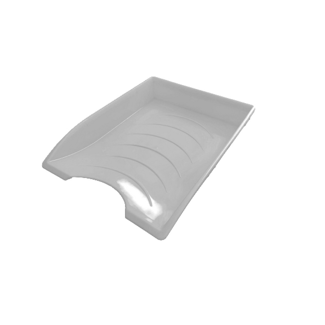 Picture of Letter Tray - Plastic - Single - 35 x 26 x 6 cm - White - Pack of 20 - 012LT-S-W