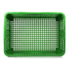 Picture of Live Chicken Crate - Open Top - Vented - Plastic Crate - 74 x 53 x 31 cm - Virgin Material - HACCP - PI-LB10-OT-virgin