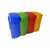 Picture of Recycle Bin with Lid - Plastic - 25L - 39 x 20 x 44 cm - LB062A