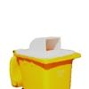 Picture of Wheelie Bin Hood - Plastic - Single - Suitable for 240L Bin - 55 x 61 x 26 cm - LB061