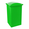 Picture of Recycle Bin with Lid - Plastic - 90L - 38 x 34 x 77 cm - LB068A