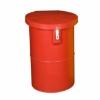 Picture of Hazardous Medical Waste Bin - Plastic - 50L - 33.5 x 50 cm - PA002