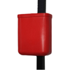 Picture of Refuse Bin - Pole Bin - Rectangular - Fixed - 25L - 33 x 18 x 42 cm - LB001