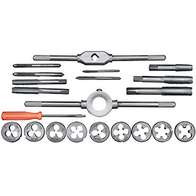 Picture of Tap and Die Set - 21 Piece - TOOT2549