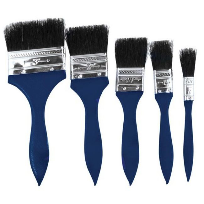 Picture of Paint Brush Set - 5 Piece - TOOB113