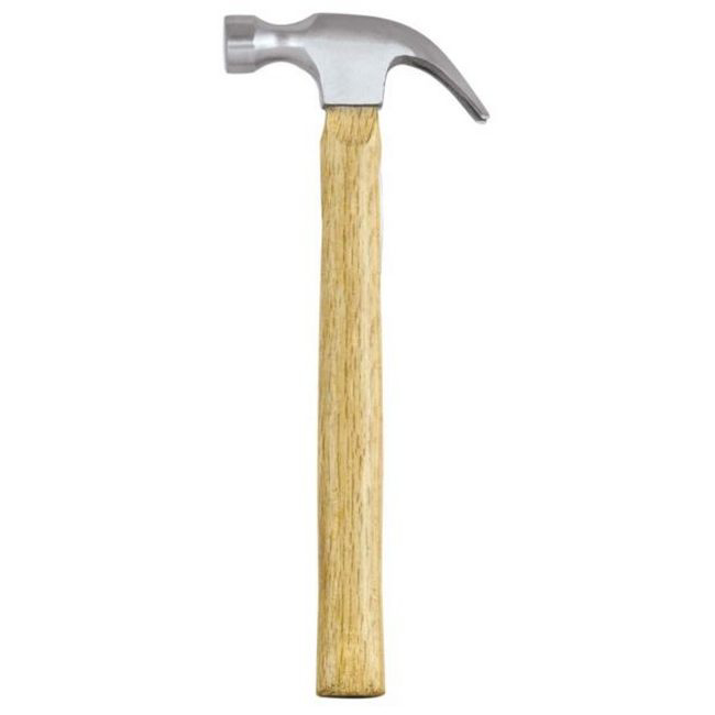 Picture of Claw Hammer - Wooden Handle - 500g - TOOH819