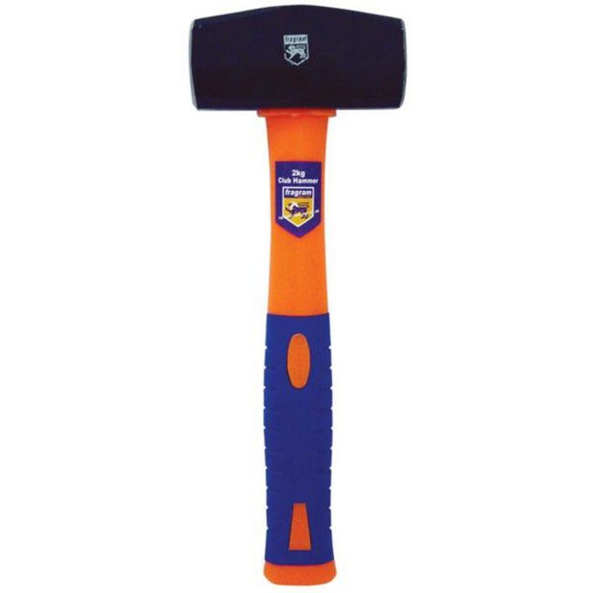 Picture of Club Hammer - Rubber Handle - 1.8kg - TOOH754