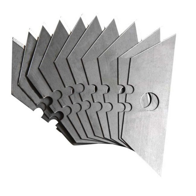Picture of Trimming Knife Blades - Heavy Duty - 10 Pieces - TOOK1031A