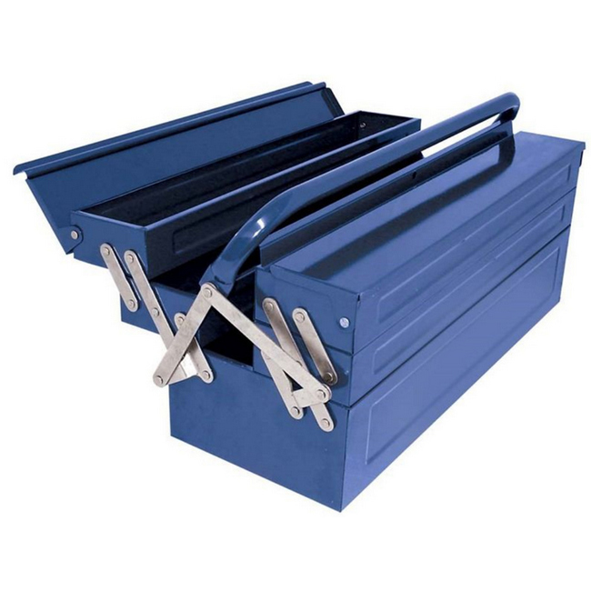 Picture of Tool Box - 5 Tray - Metal - 55 x 22 x 20 cm - TOOT2581