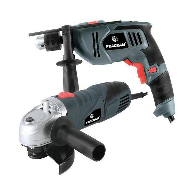 Picture of Angle Grinder - 650W and Impact Drill - 500W - Combo Set - MCOP1584