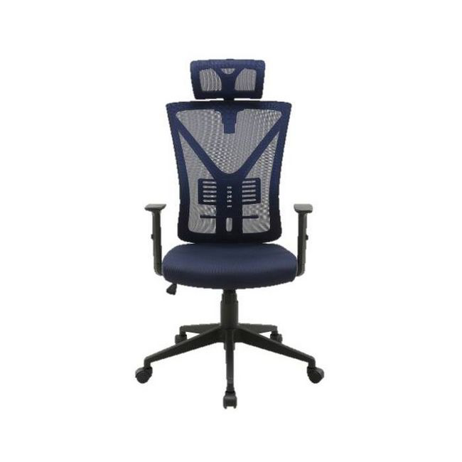 Picture of Office Chair - High Back - Santana - 127 x 60.5 x 64 cm - Mesh - Blue - QY-8151-1H