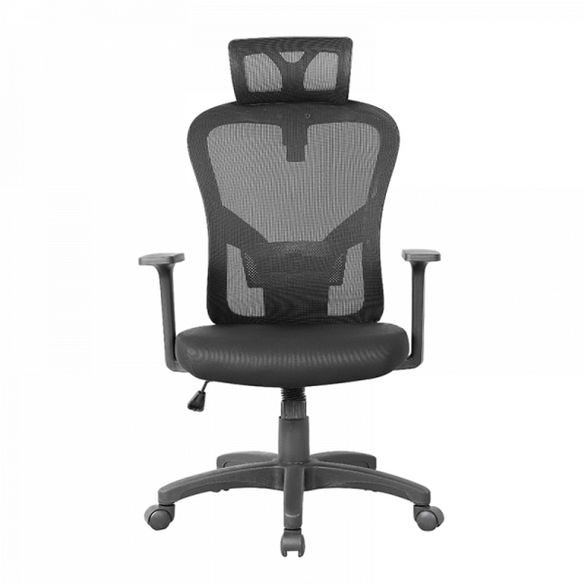 Picture of Office Chair - High Back - Harrison - 121 x 58 x 66 cm - Mesh - Black - QY-8140-5HB-Black