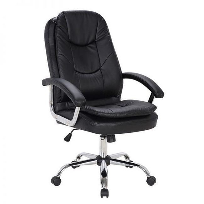 Picture of Office Chair - Mid-Back - Zodiac - 114 x 67 x 66.5 cm - Faux Leather - Black - BS-2085