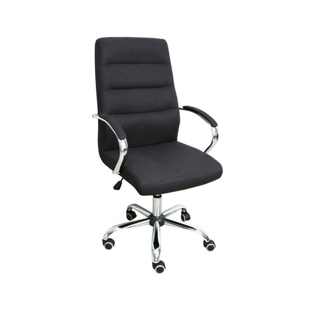 Picture of Office Chair - Mid-Back - Oxford - 30 x 64 x 65 cm - Fabric - Black - BS-6065A