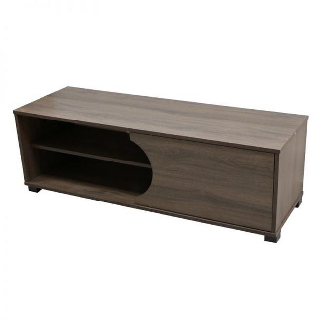 Picture of TV Unit - Everest - 40 x 40 x 120 cm - Wood Brown - LH31067