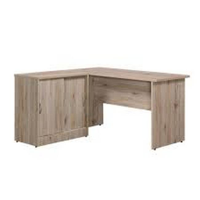Picture of Office Desk - with Sliding Door Credenza - Galaxy - L-Shaped - 75 x 135 x 135 cm - Sanremo Oak - TF-9313